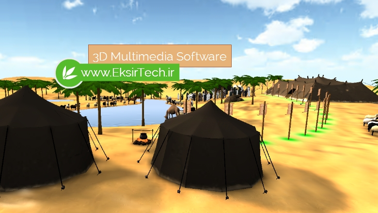 3D multimedia software